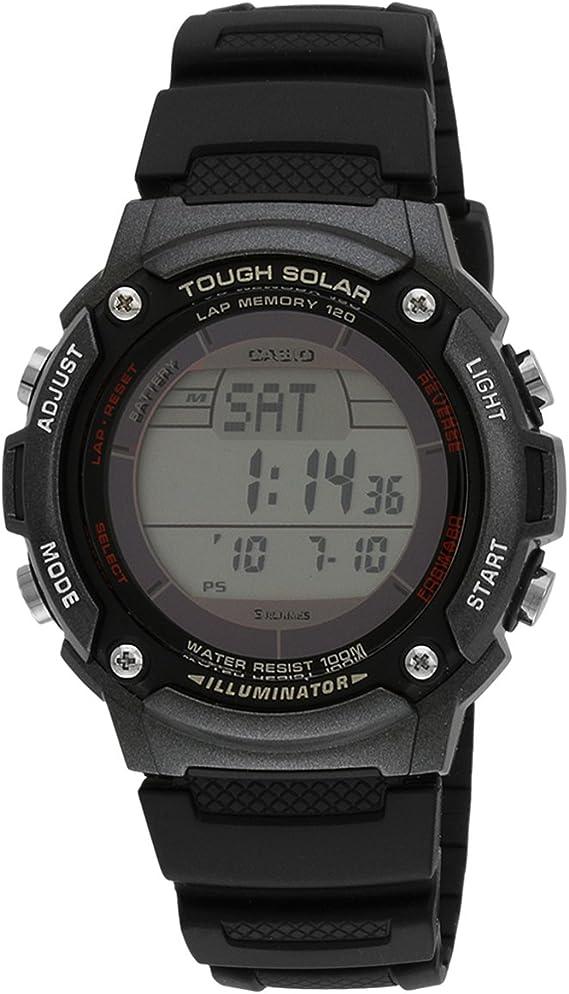 CASIO (カシオ) 腕時計 ソーラーデジタル W-S200H-1B メンズ 海外モデル [並行輸入品]