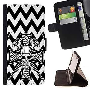 King Case - FOR Sony Xperia Z1 Compact D5503 - ?Feel the moment of dancing - Prima caja de la PU billetera de cuero con ranuras para tarjetas, efectivo Compartimiento desmontable y correa para la mu?eca