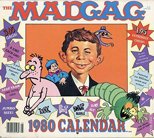 MADGAG 1980 Calendar (MAD Magazine Calendar)