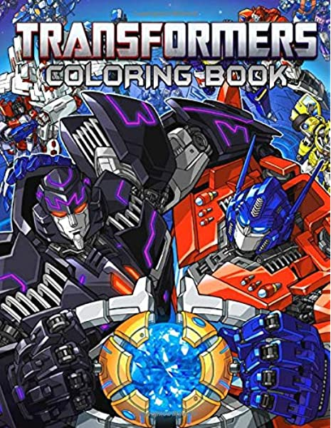 - Transformers Coloring Book: Great Books For Any Fans Of Transformers With  50 Coloring Pages: Tech, High: 9781700401984: Amazon.com: Books