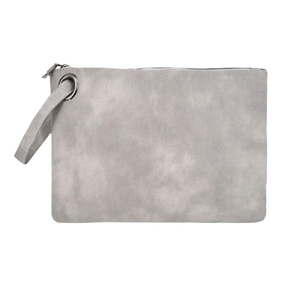 Goodbag Boutique Women Oversized Clutch Purse Bag PU Leather Large Capacity Clutch Handbag Lady Wristlet Purse Evening Bag