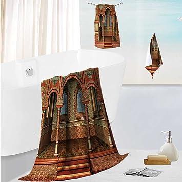 SCOCICI1588 - Juego de Toallas de baño de Lujo, diseño de Paraguas de Portugal Festivo
