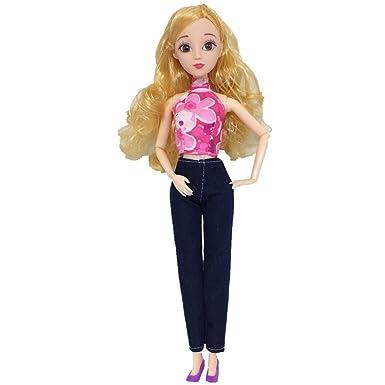 Amazon.com: 1 juego de ropa para muñecas, moda para jóvenes ...