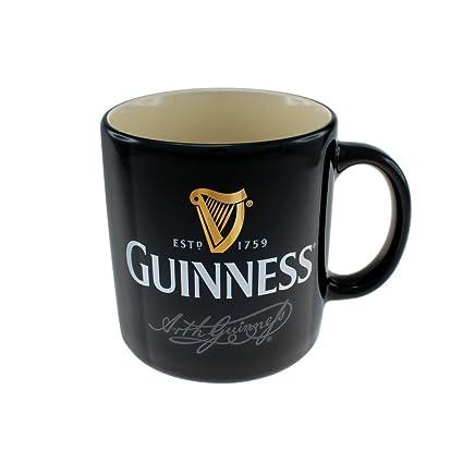 Black Coffee And Mug Cup Signature Ceramic Large Tea Guinness NkwP80XnO