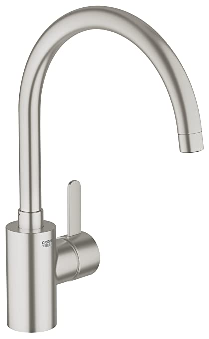 GROHE Miscelatore Cucina Eurosmart Cosmopolitan 32843DC0: Amazon.it ...