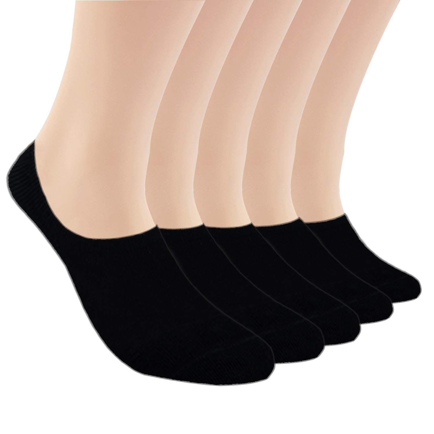 cc93ee10f2d44 No Show Socks Women Athletic Cushion Cotton Socks- 5/10 Pack-Low Cut