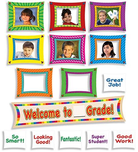Scholastic Teacher's Friend Welcome to_ Grade! Mini Bulletin Board (TF8054)