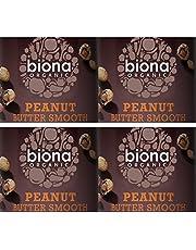 (4 PACK) - Biona - Organic Almond Butter | 350g | 4 PACK BUNDLE