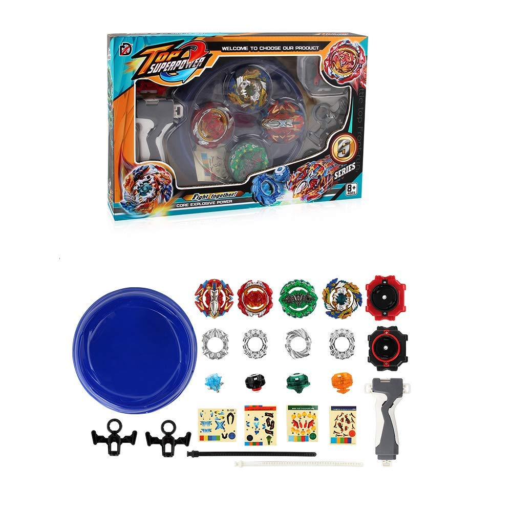 Poveyan Bay Burst Battle Avatar Attack Battle Set with Two Launchers by Poveyan (Image #4)