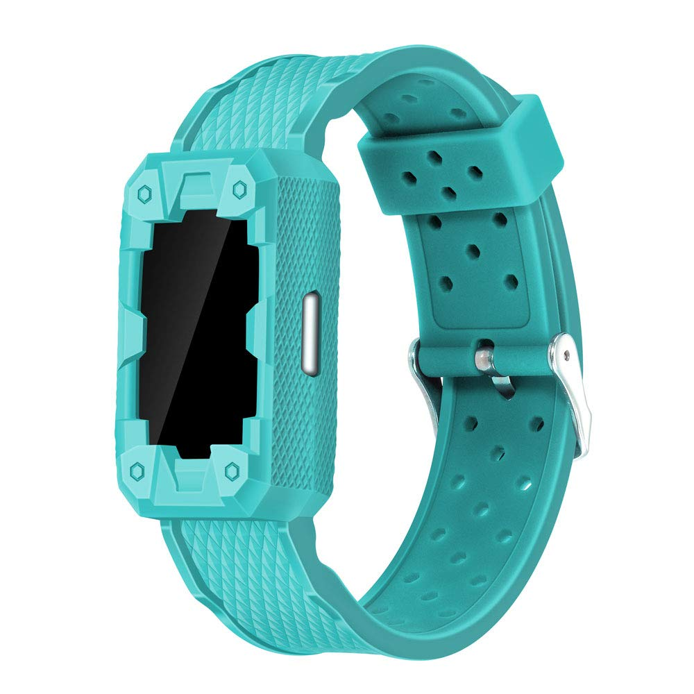 Famobest for Fitbit Charge 2 Sport Band, Smartwatch Accessory Sport Band Compatible for Charge 2 Fitbit(Teal) by Famobest