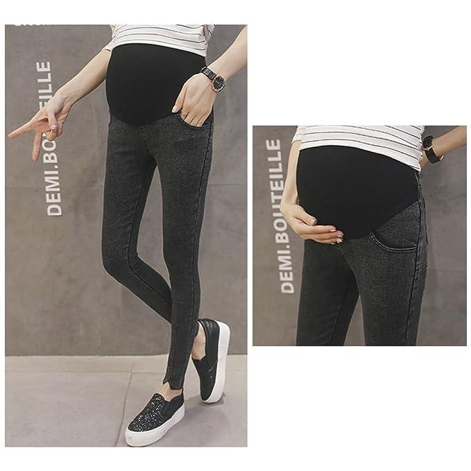 BOZEVON Style Pregnant Women in Pregnancy Full Support Abdomen High Waist Leggings