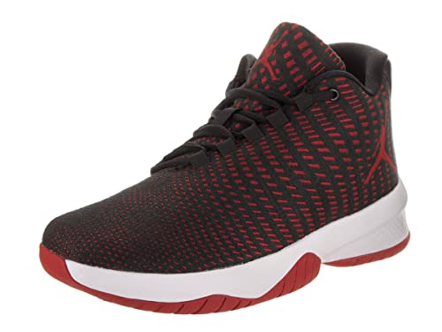 premium selection 1b461 e9ce1 Jordan Men s B. Fly Black Gym Red Dark Grey White Basketball Shoe 12 Men  US  Buy Online at Low Prices in India - Amazon.in