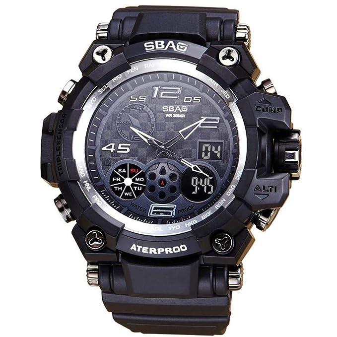 Rcool Relojes suizos relojes de lujo Relojes de pulsera Relojes para mujer Relojes para hombre Relojes deportivos,LED Relojes deportivos a prueba de agua ...