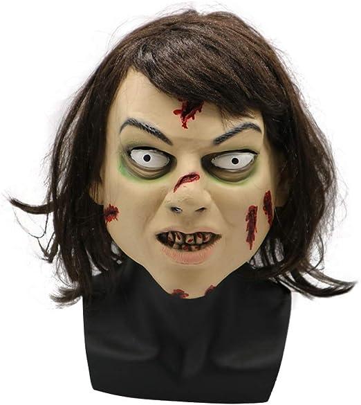 Moolo Halloween Máscara Máscara de látex de Halloween, Horror ...