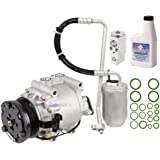 New AC Compressor & Clutch With Complete A/C Repair Kit For Ford Five Hundred - BuyAutoParts 60-80374RK New