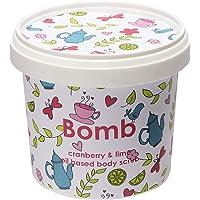 Bomb Cosmetics Cranberry & Lime Vücut Peeling 375g 1 Paket (1 x 1 Adet)