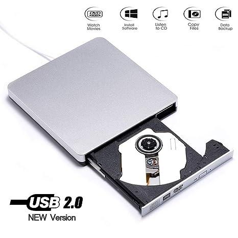 Amazon.com: SONADY - Grabadora de DVD y DVD USB 2.0 con ...