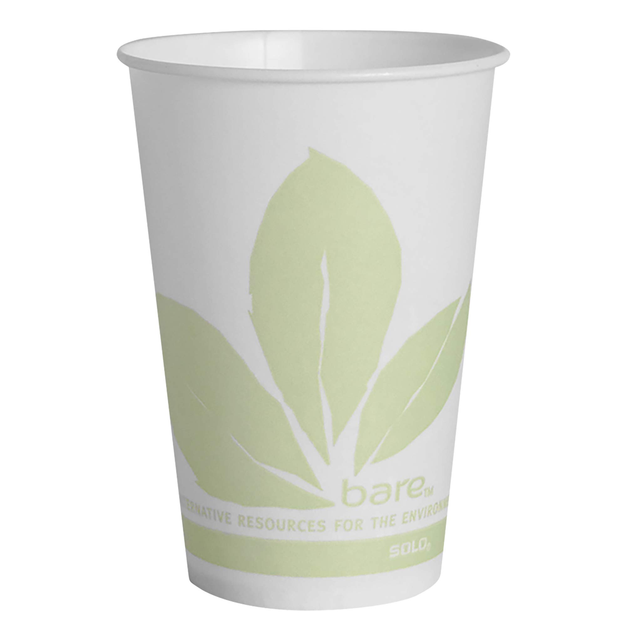 Solo R7BB-JD110 7 oz Bare Waxed Cold Cup (Case of 2000)