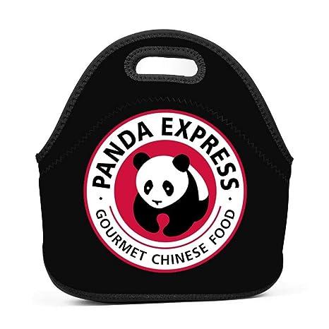 Panda Express Insulated Neoprene Lunch Bag Tote Handbag
