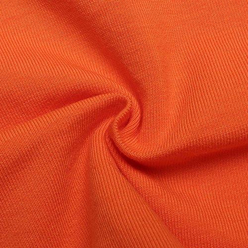 Sexy Fashion Womens Tank Tops,Letter Print Casual Tank Tops Vest Halter Slim Tube top Vest Orange by AOmahh-vest (Image #4)