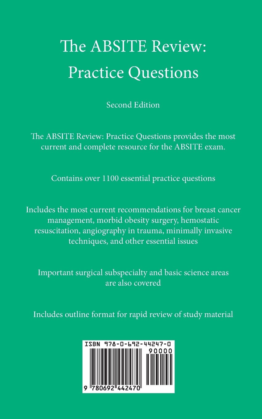 The Comprehensive Absite Review Pdf