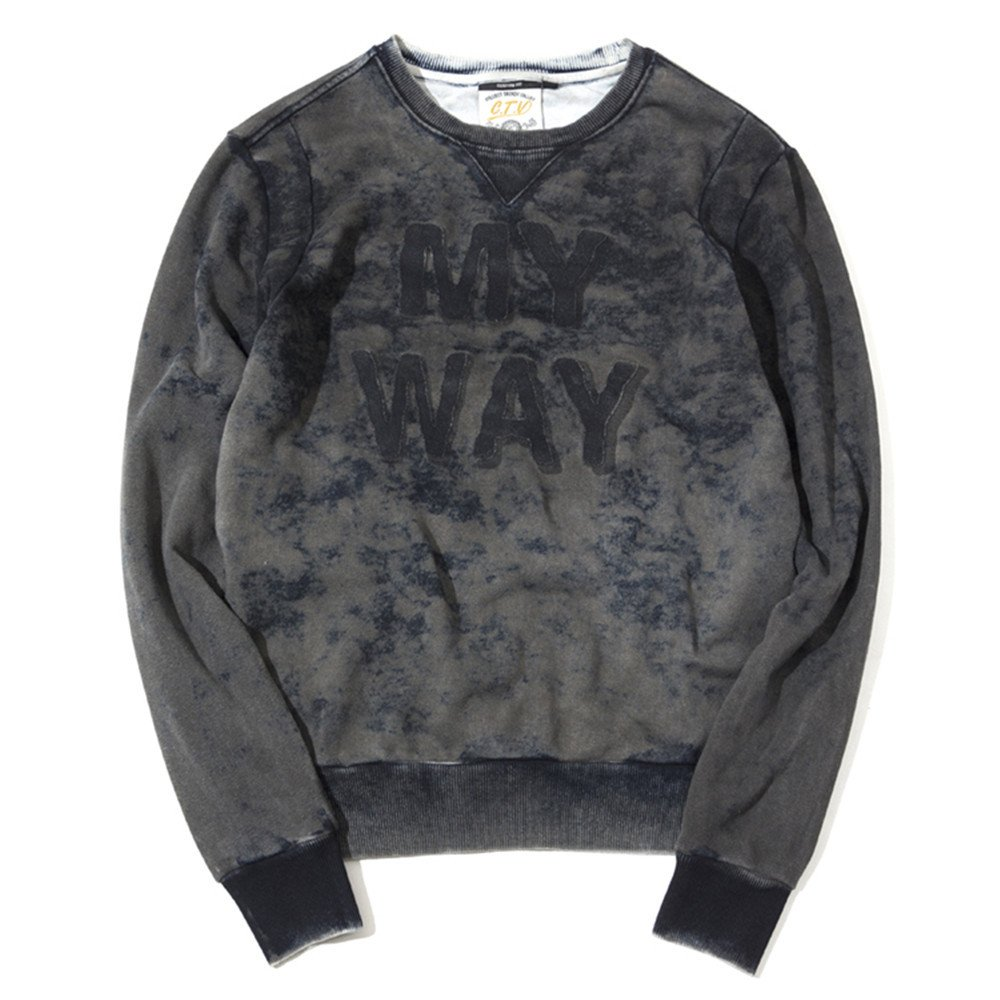 Lisux t - Shirt - Hoodies britischen Baumwolle waschen Alter t - Shirt gewaschen Hoodies,Bild - Farbe,m