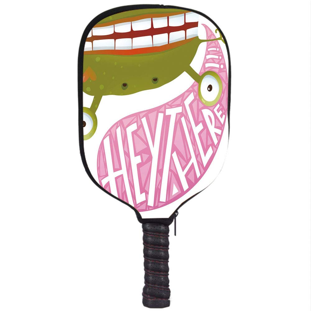 Amazon.com : Neoprene Pickleball Paddle Racket Cover Case ...
