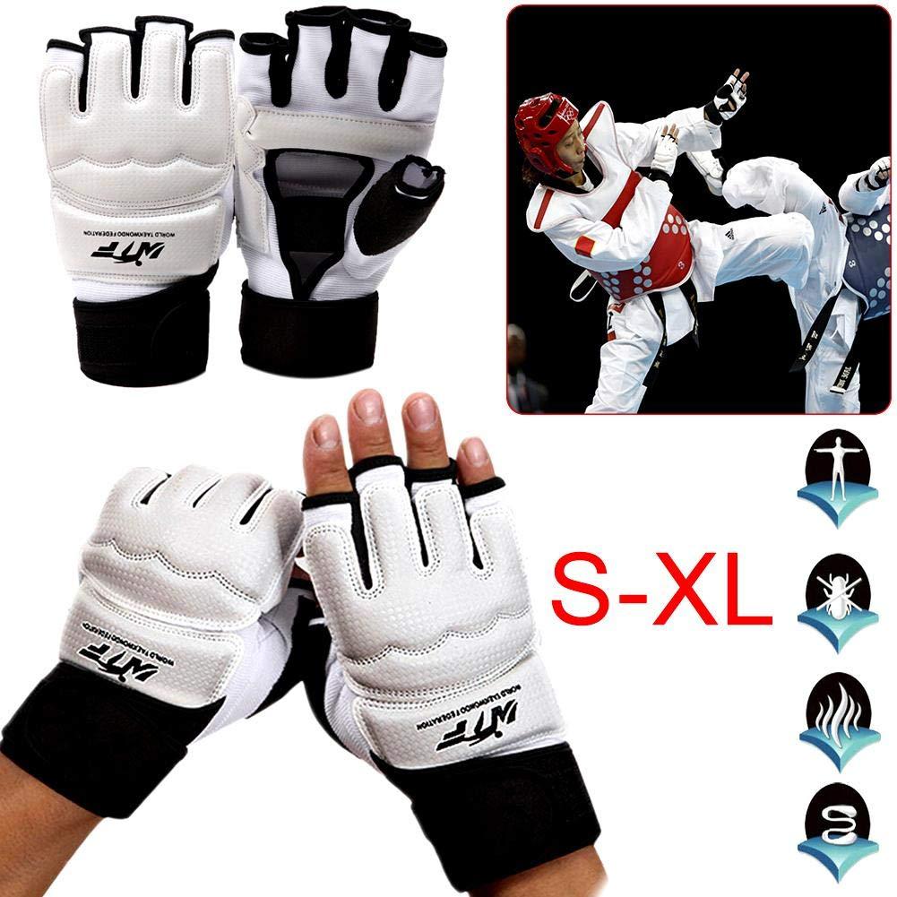 Taekwondo Handschuhe Kinder Damen Handschuhe Boxhandschuhe Boxsack Sandsack Kickboxen Kampfsport Taekwondo Sparring Bandage Herren Damen