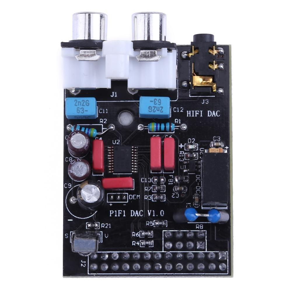 Widewing HiFi Sound Card for Raspberry Pi I2S Interface PCM5102A Module B RPI B