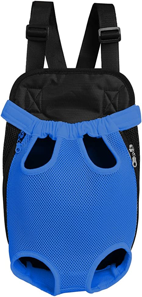 OLizee Legs Out Front Dog Carrier Hands-Free Pet Backpack
