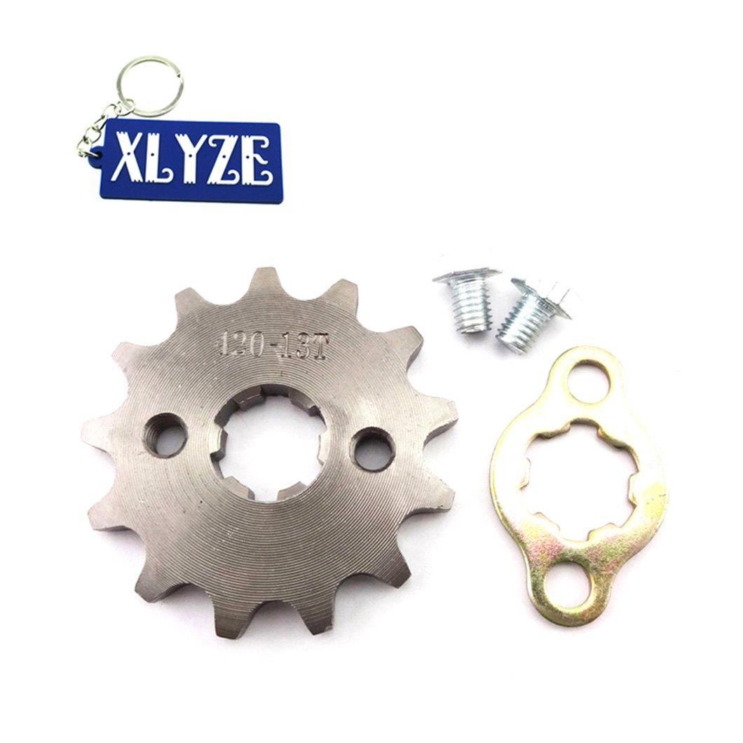 xlyze 420/13/dents 17/mm ID Chaine du pignon du moteur de retenue pour 50/70/90/110/cc ATV Quad Dirt Bike Ogawa