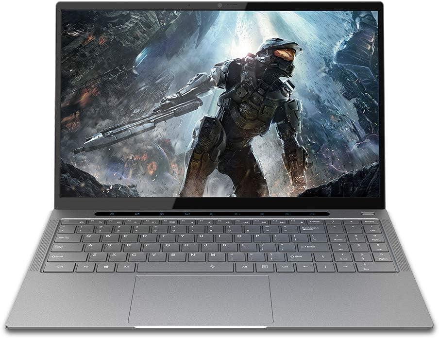 BOCCONI 15.6 inches Windows 10 Laptop, Intel Core i5-6287U 8GB RAM 256GB SSD, FHD 1920x 1080 IPS Display, Ultra Thin and Light Notebook, USB 3.0, HDMI, Type-C, with Fingerprint Keyboard Light