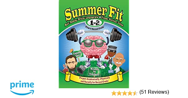 Summer Fit First to Second Grade: Math, Reading, Writing, Language ...