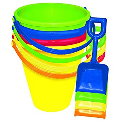Amscan Party Favors Small Pail with Shovel, 1 Ct, Multicolor: Kitchen & Dining [5Bkhe1107343]