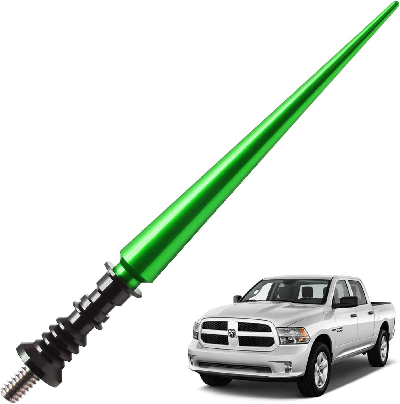 JAPower Replacement Antenna Compatible with Toyota FJ Cruiser 2007-2014 5.25 inches-Green