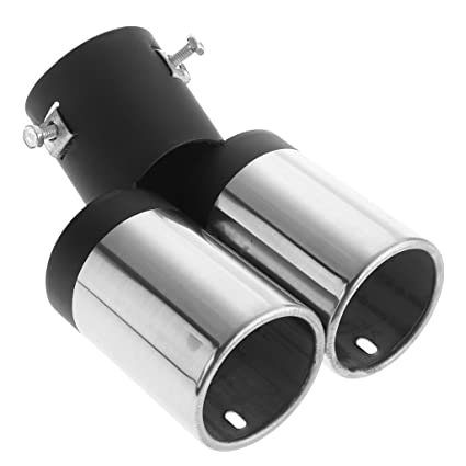 Amazon com: Jili Online Universal Sport Dual Twin Exhaust