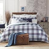Tommy Hilfiger 22050949TH004 Th Surf Plaid Comforter Set Th Surf Plaid, Blue, Full - Queen