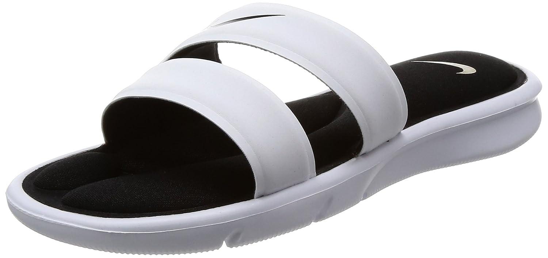 NIKE Women's Ultra Comfort Slide Sandal B01F49Y5TI 7 B(M) US|White/Black