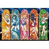 1000ピース ジグソーパズル 美少女戦士セーラームーンCrystal Pretty Guardian アートクリスタルジグソー(50x75cm)