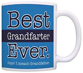 Amazon Birthday Gifts For Grandpa Best Grandfarter Ever Oops