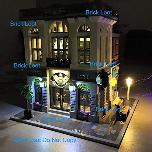 Brick Bank LED Lighting Kit for set 10251 Set by Brick Loot for cheap