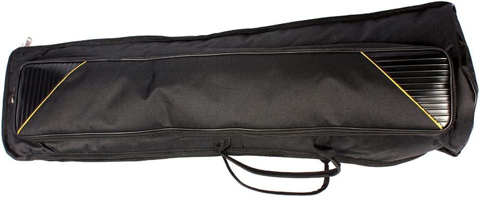 MagiDeal Durable Tenor Trombone Gig Bag Musical Instrument Accessory Carry Bag Backpack Black 35.82inch