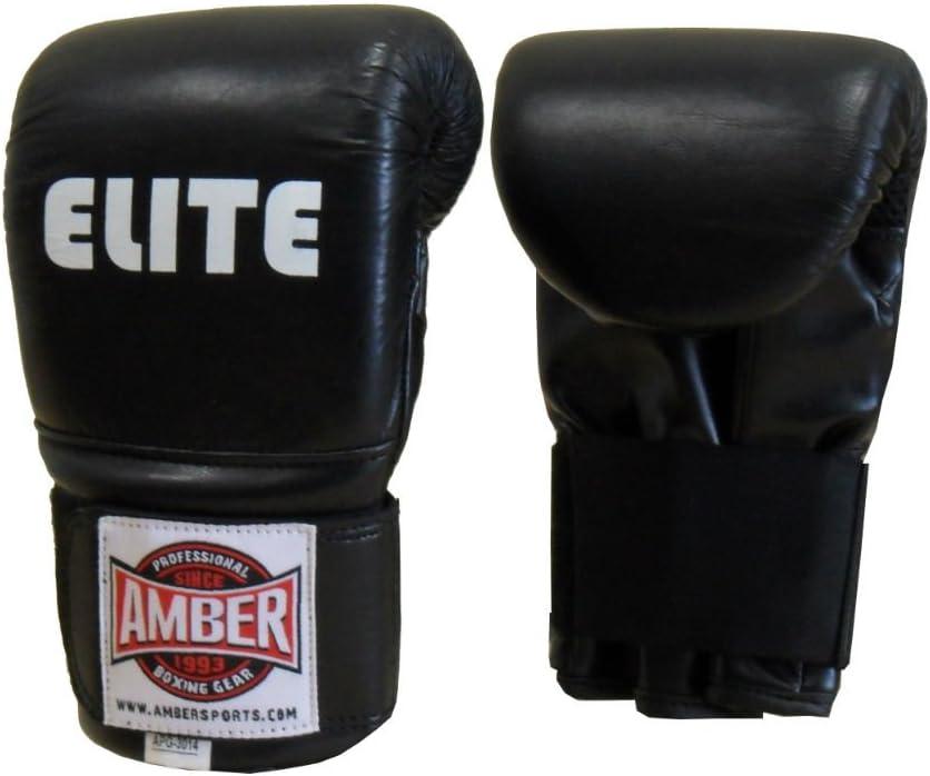 Elite Molded ProバッグトレーニンググローブボクシンググローブスパーリングPunching GloveレザーキックボクシングムエタイFighting 8oz