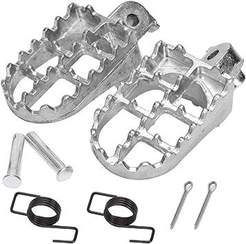 Aluminium Foot Pegs Honda CRF50 70 80 CRF100F XR50R TW200 pit dirt bike Footrest