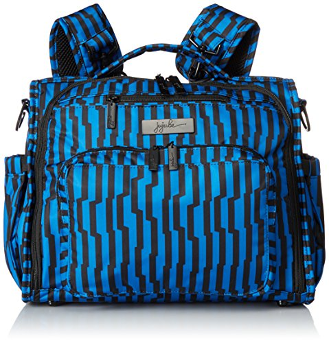 Ju-Ju-Be Onyx Collection BFF Convertible Diaper Bag, Electri