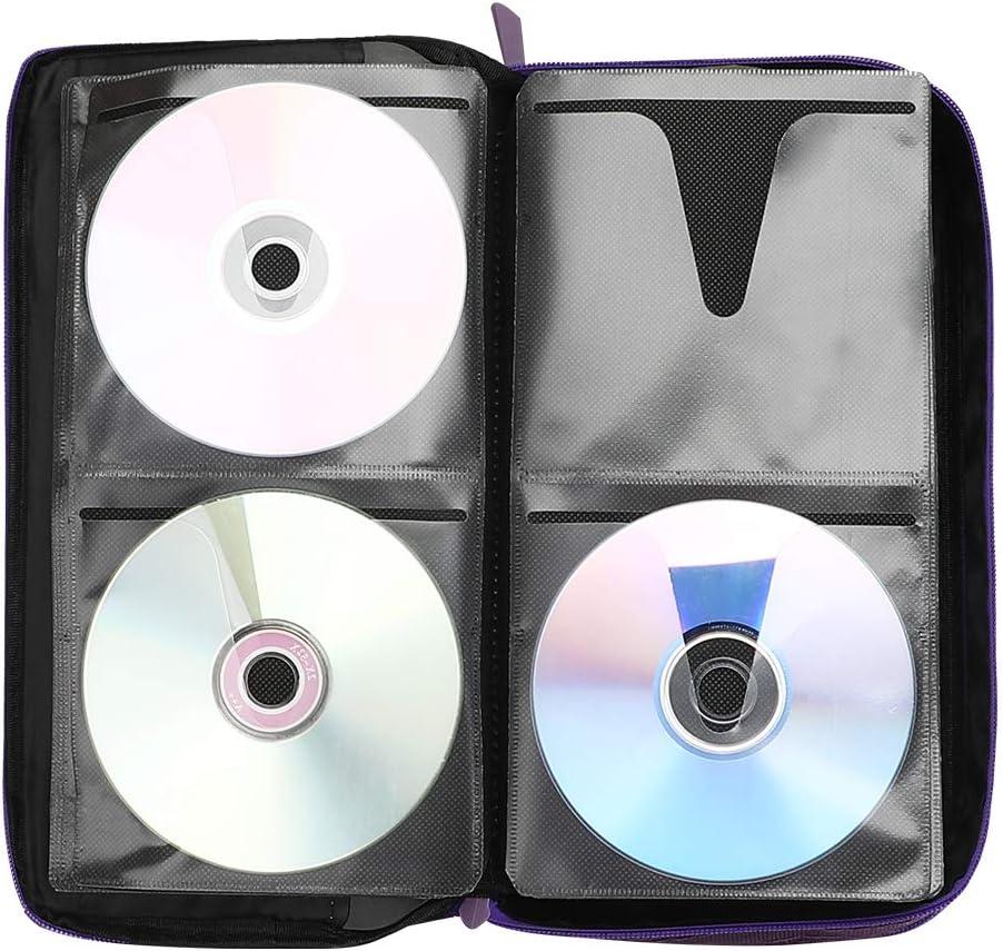 Estuche de CD, COOFIT Almacenamiento de DVD 64 Capacidad Estuche de DVD Almacenamiento de billeteras VCD Oraganizer Almacenamiento de DVD protector de Oxford: Amazon.es: Electrónica
