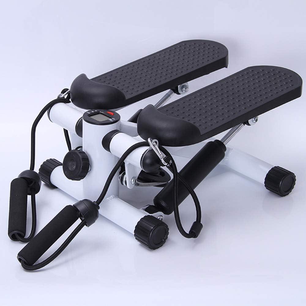ZZTHJSM Mini Stepper Fitness Ejercicio Paso A Paso Escaladora y Swing Stepper para Usuarios Principiantes Máquinas De Step,Gris