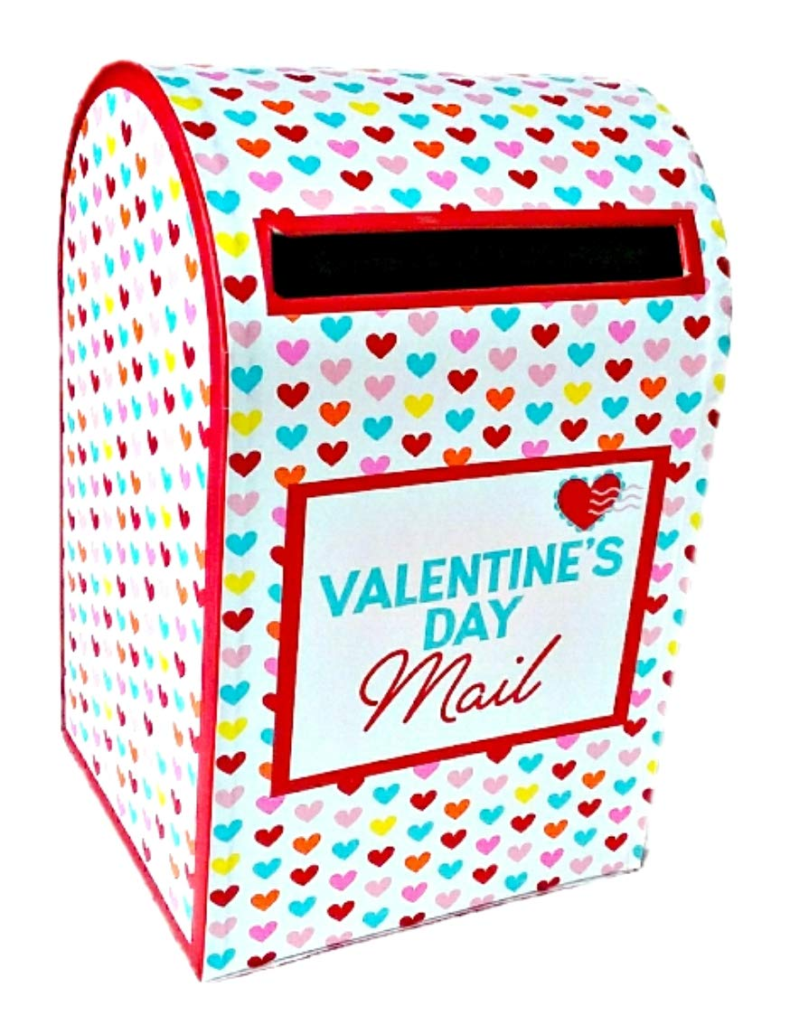 Horizon Group LLC Hugs Hearts and Kisses Valentine's Day Mailbox