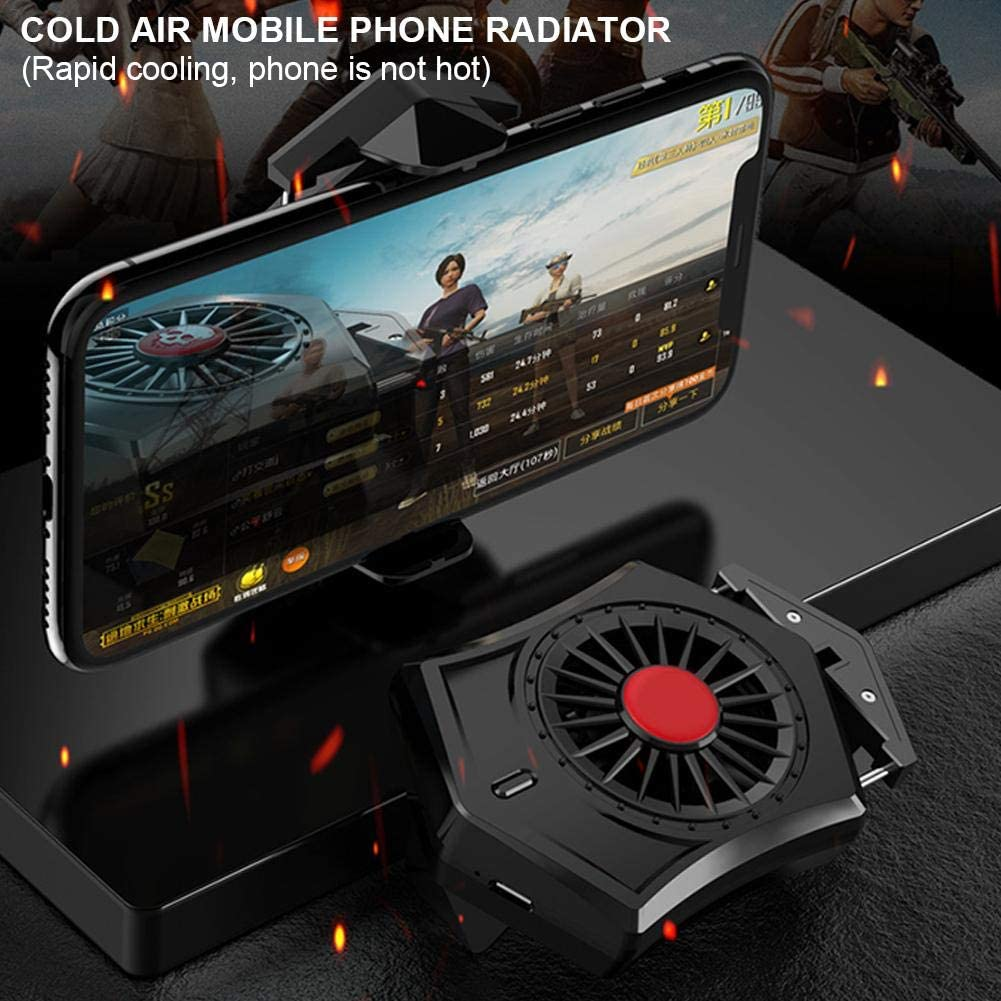 Phone Cooler Cooled Mobile Phone Radiator Game Controller Cooling Fan USB Phone Cooler