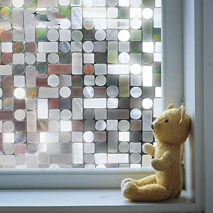 KUNHAN Fensterfolie Lichtdurchlässiges Undurchlässiges ...